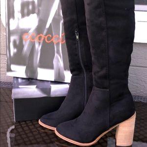 Ccocci Tall Black Boots